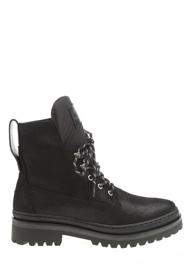 Tommy Hilfiger Kadın Sporty Outdoor Lace Up Bot FW0FW04343 Siyah